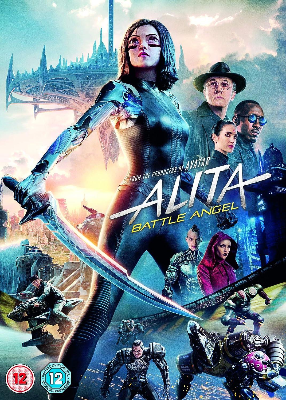 Amazon Com Alita Battle Angel Dvd 2019 Movies Tv