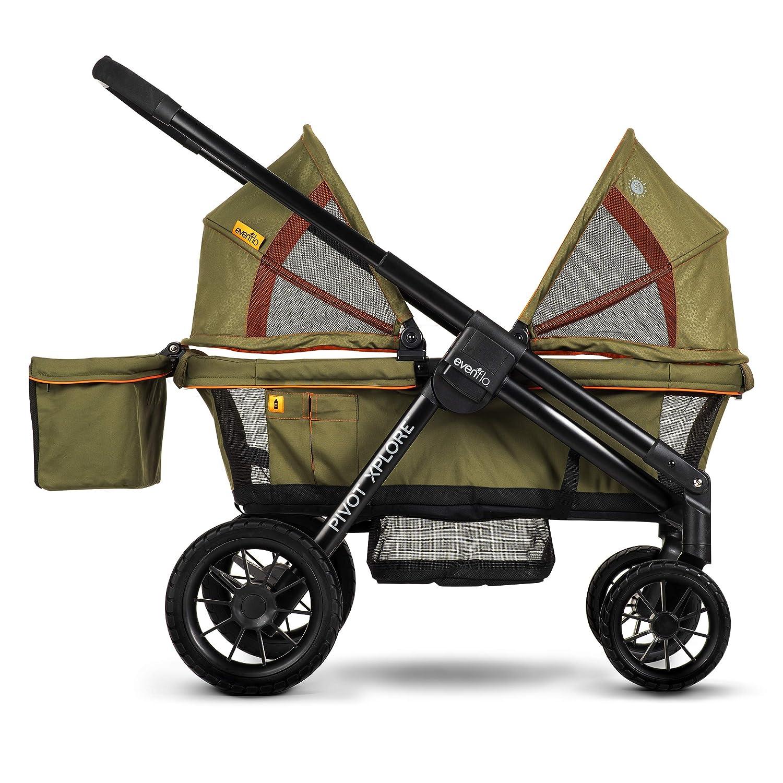Evenflo Pivot Xplore Stroller Wagon- Best Quality Stroller Wagons For Big Kids