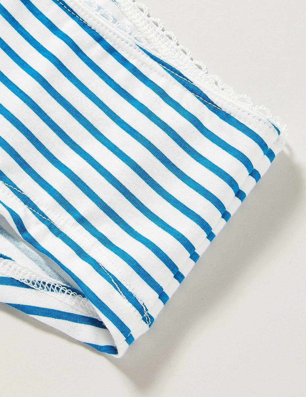 Sanetta M/ädchen Cutbrief Blue Moon Panty Ringel-Design in einem sch/önen Blau