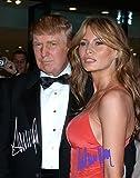 Donald Trump and Melania Trump Autographed Preprint #5