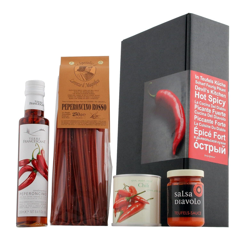 In Teufels Küche   Geschenkset (für Scharfschmecker): Amazon.de:  Lebensmittel U0026 Getränke