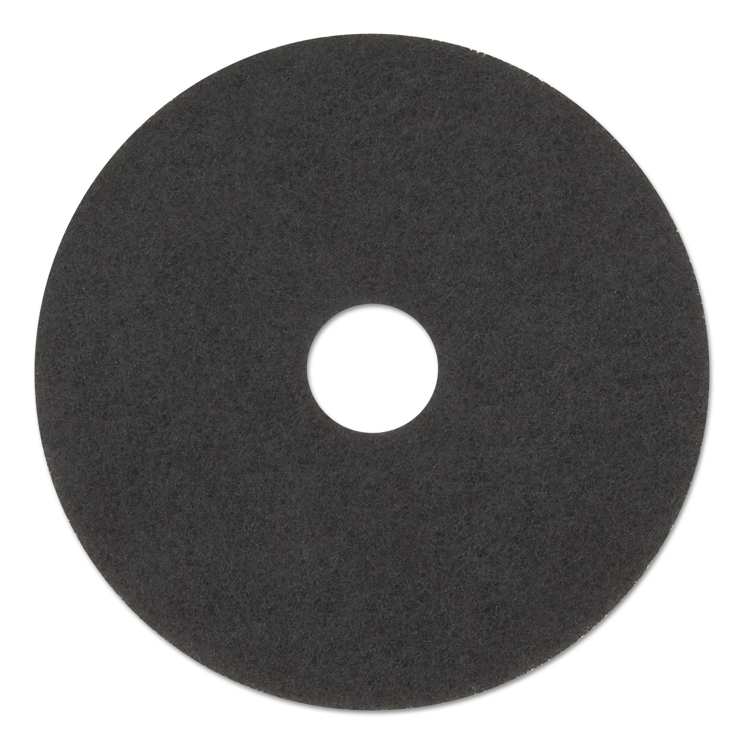 Premiere Pads Standard 20-Inch Diameter High Performance Stripping Floor Pads, Black (Case of 5)