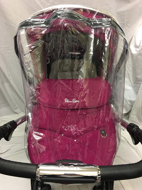 New RAINCOVER PVC Zipped fits Silver Cross Wayfarer Pushchair Pram Stroller