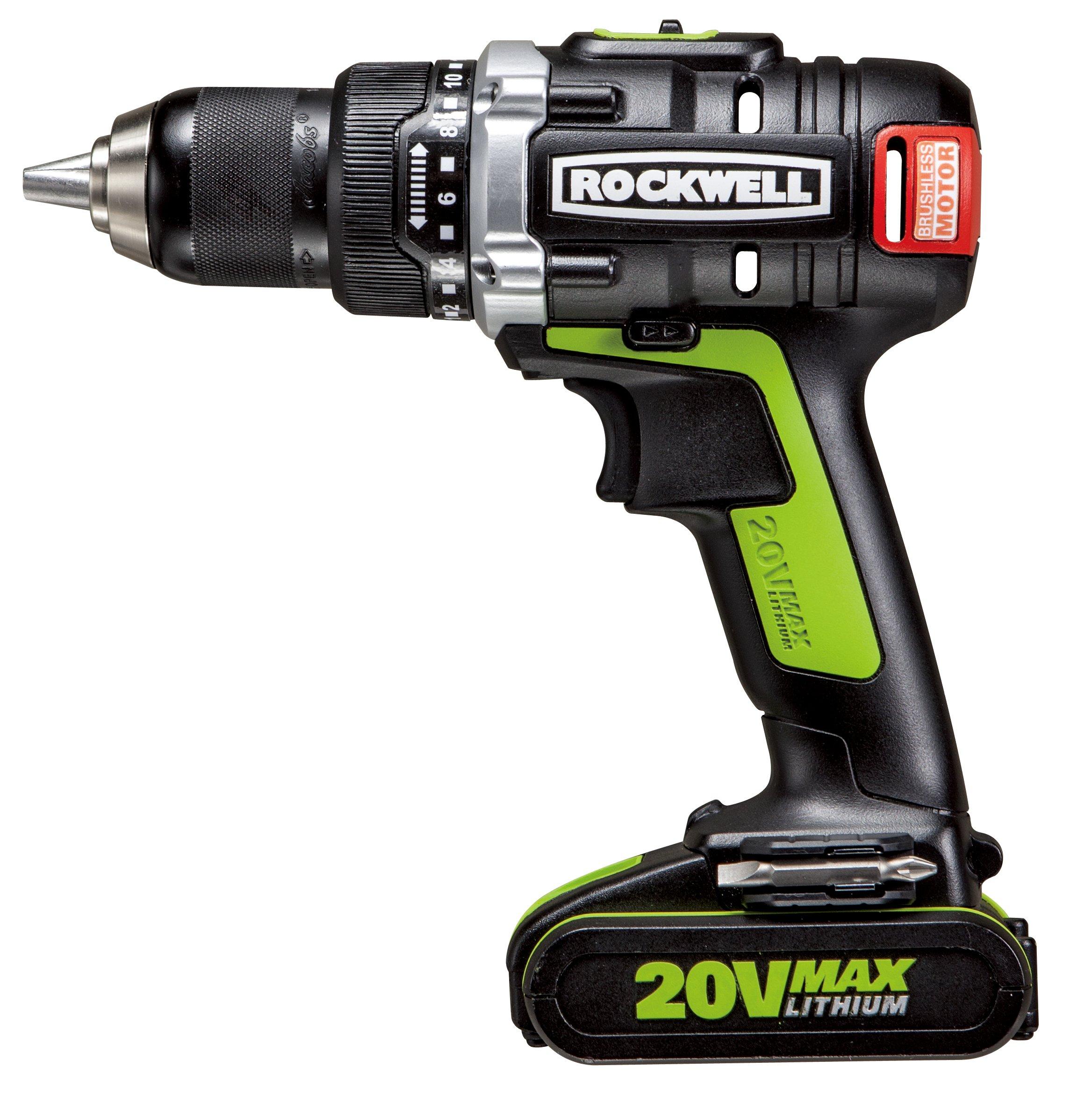 Rockwell RK2852K2 Li-ion Brushless Drill/Driver, 20V