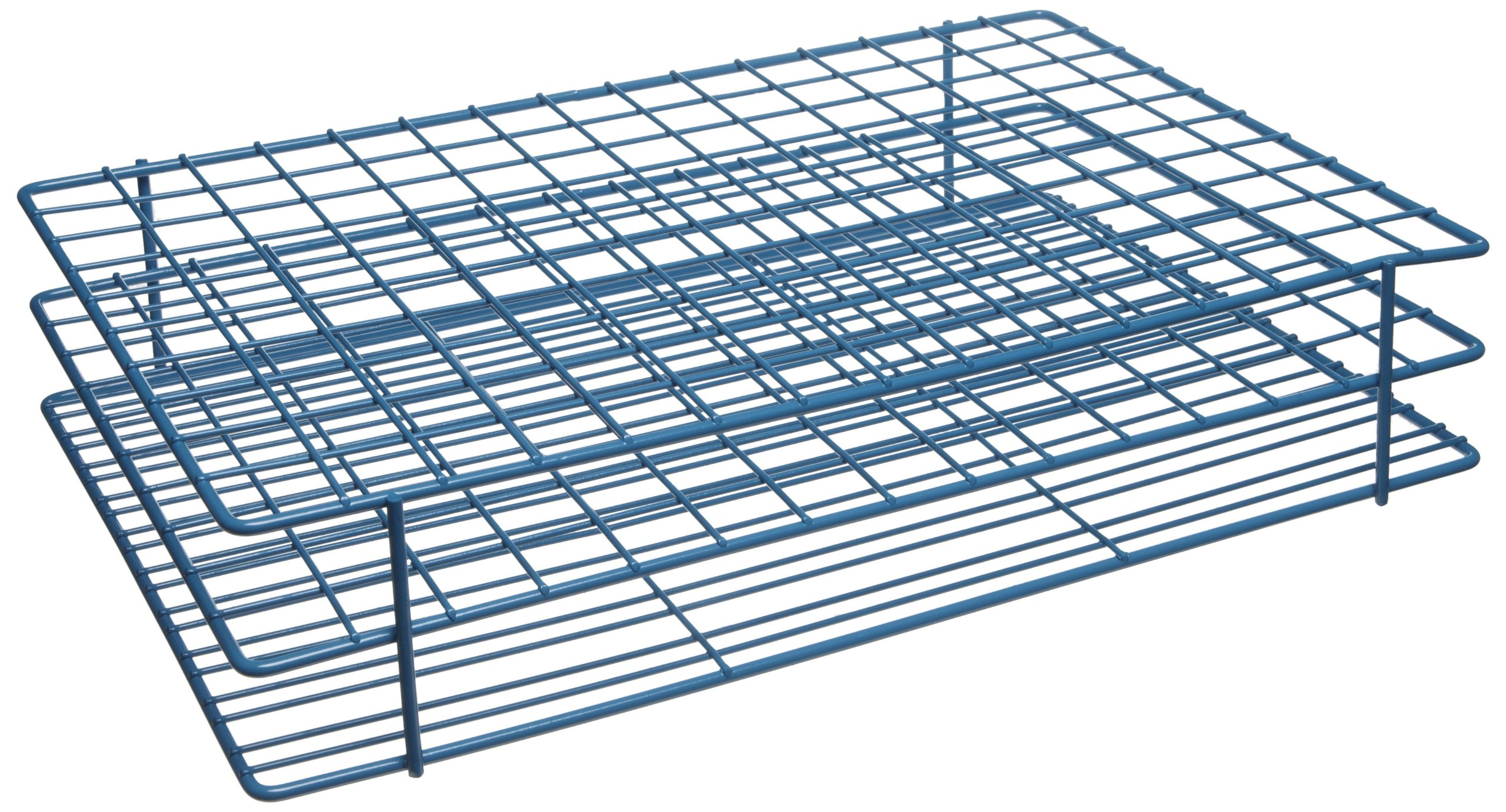 Bel-Art F18760-1150 Poxygrid Test Tube Rack; 15-16mm, 150 Places, 12 x 8¼ x 2½ in.