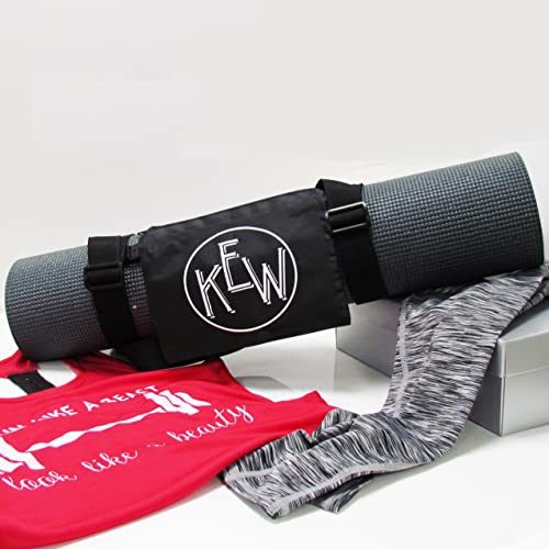 personalized mats boutiquemonogram yoga mat by pin monogrammed custom fitness