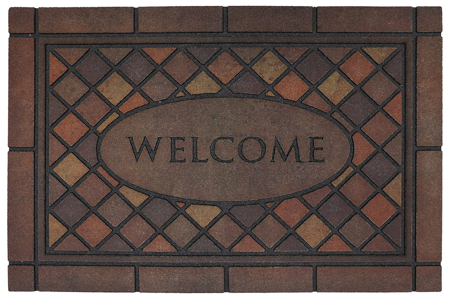 1. Mohawk Home Mosaic Spice Doormat
