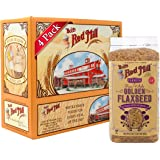 Bob's Red Mill Raw Whole Golden Flaxseed, 24 Ounce (Pack of 4) (Package May Vary)