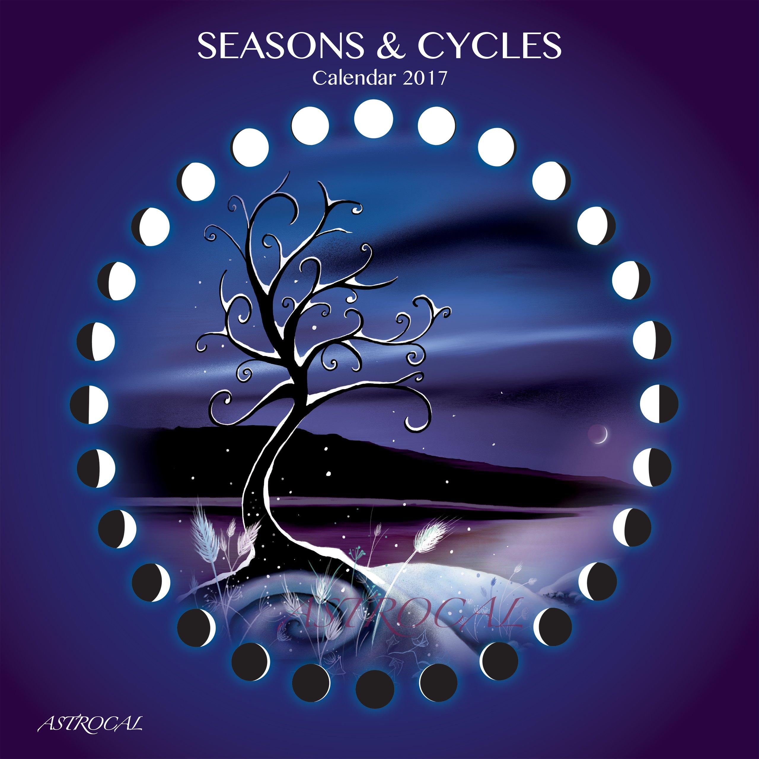 Seasons & Cycles MOON CALENDAR 2017: Astrocal: 7101426124752: Amazon