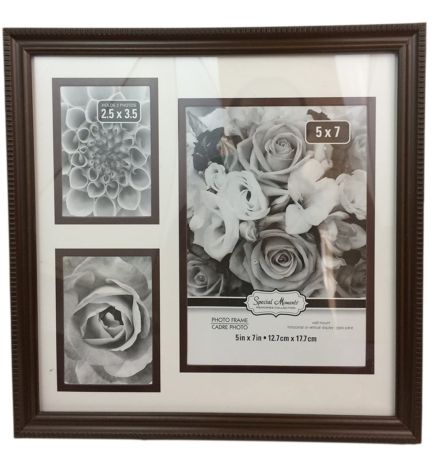 Amazoncom Special Moments Plastic 3 Photo Collage Frames Black