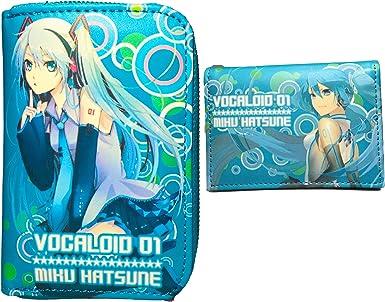VOCALOID Hatsune Miku logo Pu Wallet Purse UK