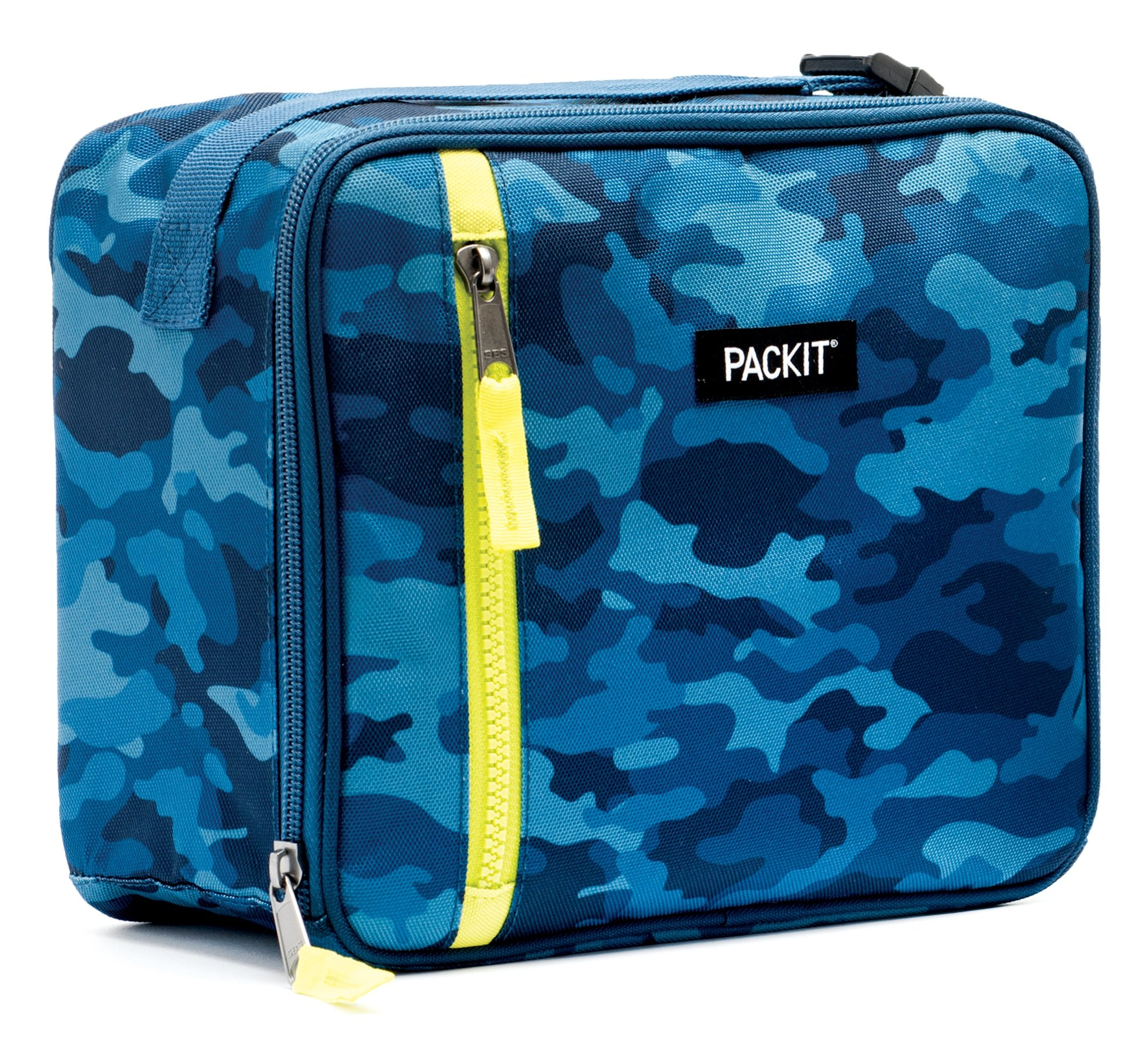 PackIt Freezable Classic Lunch Box, Blue Camo by PackIt (Image #3)