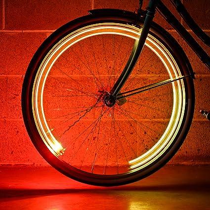 MonkeyLectric LED USB ReCh Bike Wheel Spoke Color Monkey Light M204R M210R M232R