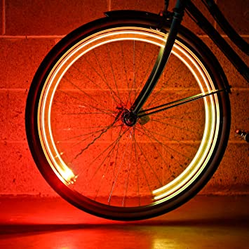 Monkey Light A15 Luz Automática para Rueda de Bicicleta, Luces LED ...
