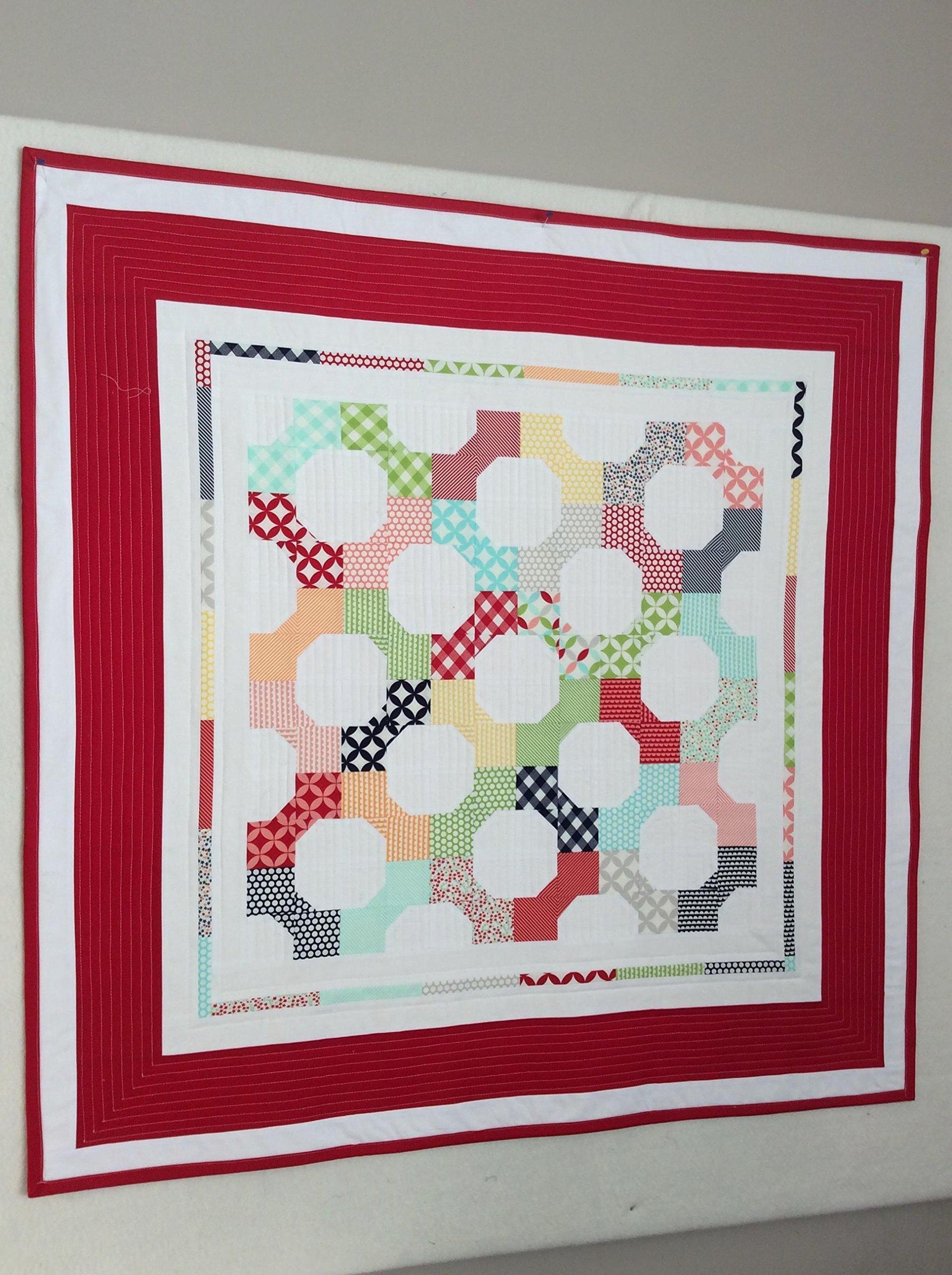 Modern Baby Quilt - Modern Toddler Quilt - Baby Quilt - Handmade Baby Quilt - Baby Bedding - Toddler Bedding - Baby Blanket