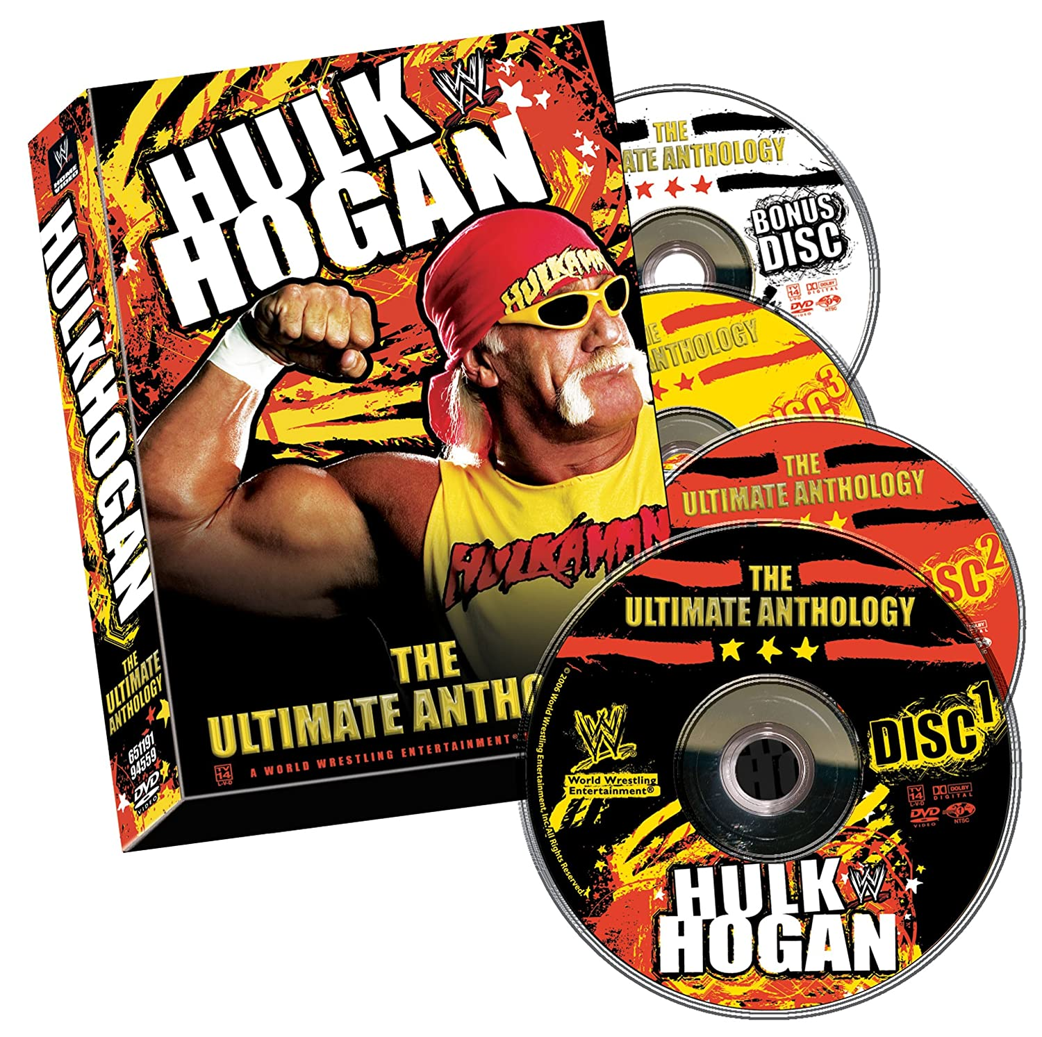 amazon com wwe hulk hogan the ultimate anthology hulk hogan