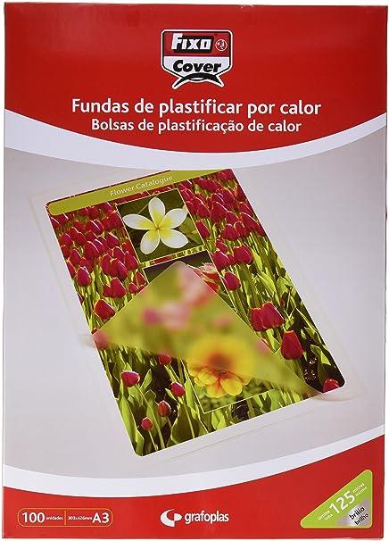 Amazon.com : Fixo 1021000 - Box of 100 A4 Laminating Pouch ...