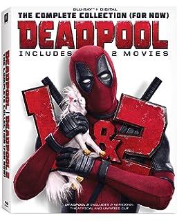 Amazon Com Deadpool 2 Blu Ray Plus Digital Download 2018
