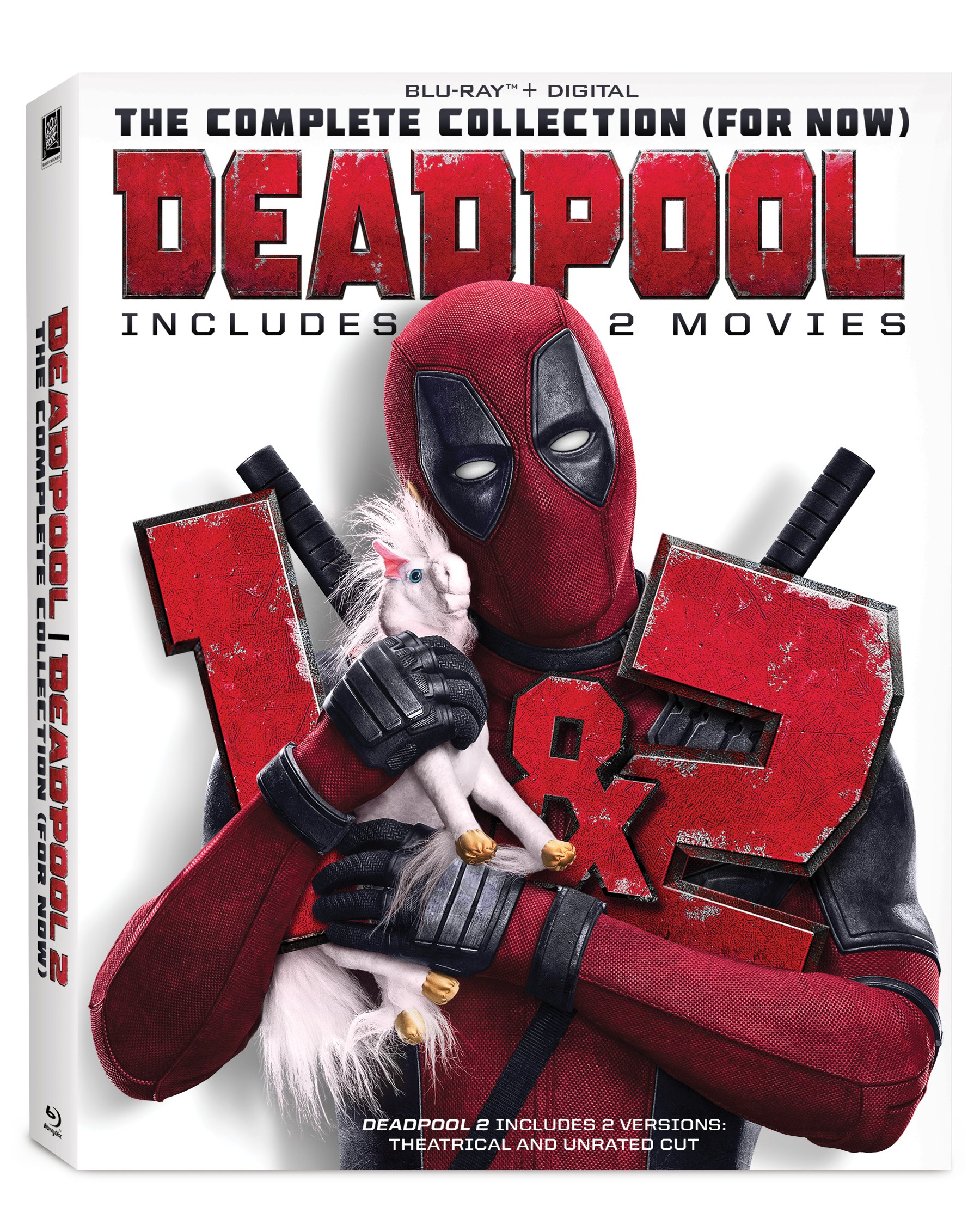 Blu-ray : Deadpool: The Complete Collection (for Now) (With DVD, 2 Pack, Subtitled, Digital Theater System, Dolby)