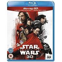 Star Wars: The Last Jedi [Blu-ray 3D] [2017] [Region Free]