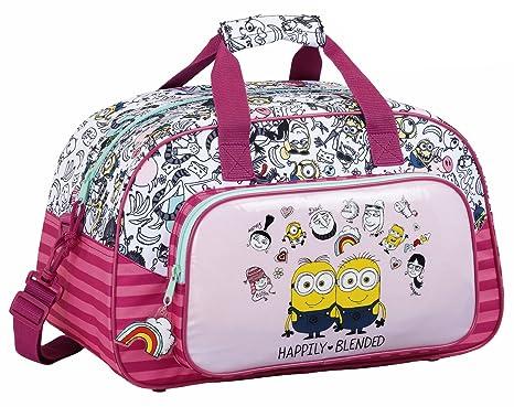 Safta Bolsa De Deporte Minions Girl Oficial 400x230x240mm  Amazon.es ... 4743f1c821431