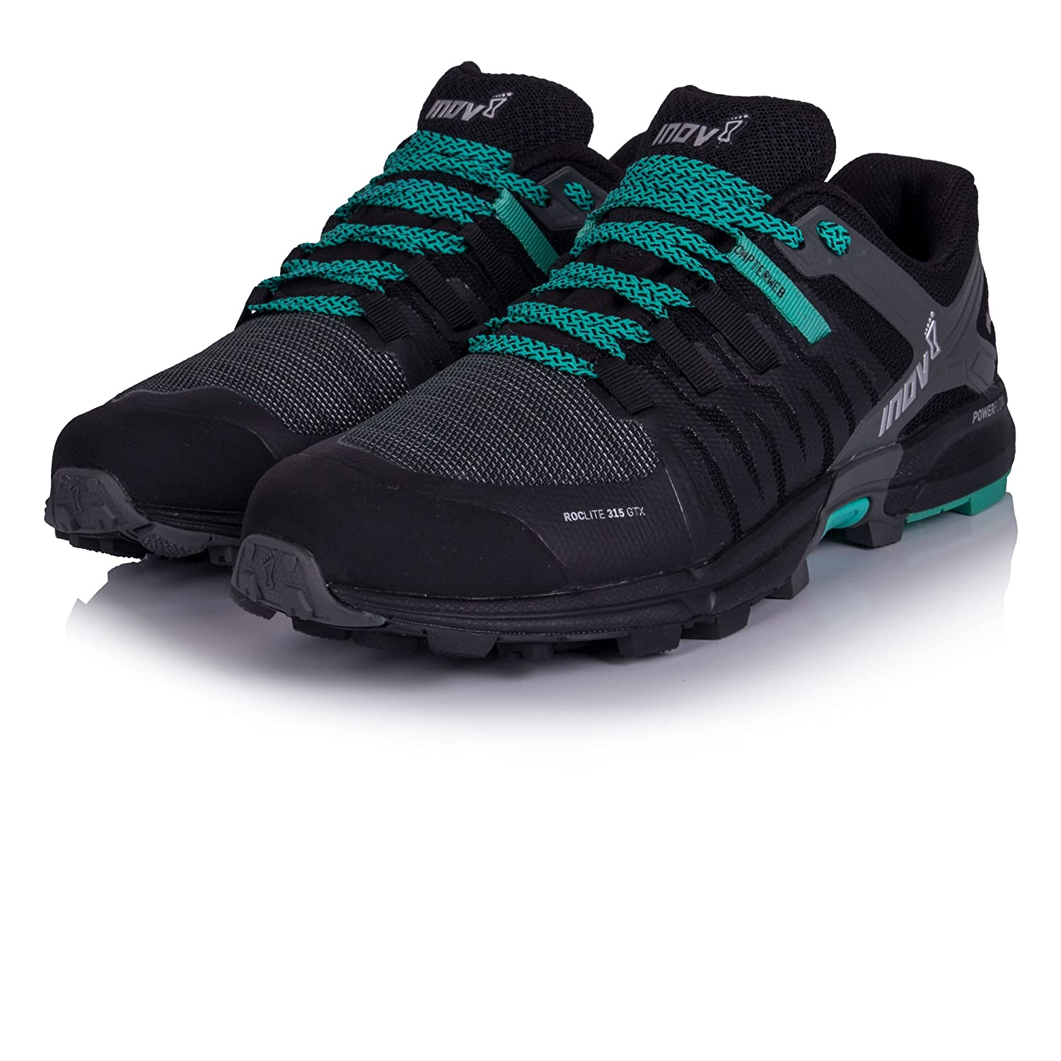 Inov-8 Women B077BSW88F Roclite 315 GTX Trail Running Shoes B077BSW88F Women 8.0 B(M) US|BLACK/TEAL 073bab