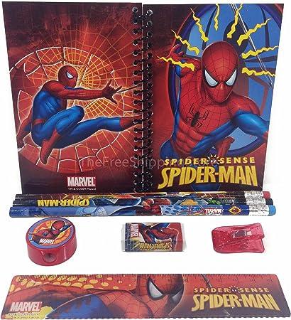 Spider-Man último libro de pegatinas Colección Set en Estuche