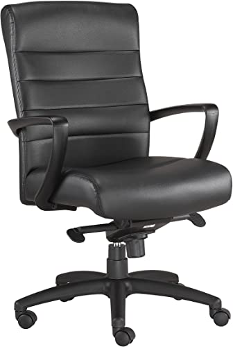 Eurotech Seating Manchester Mid Back Leather Chair
