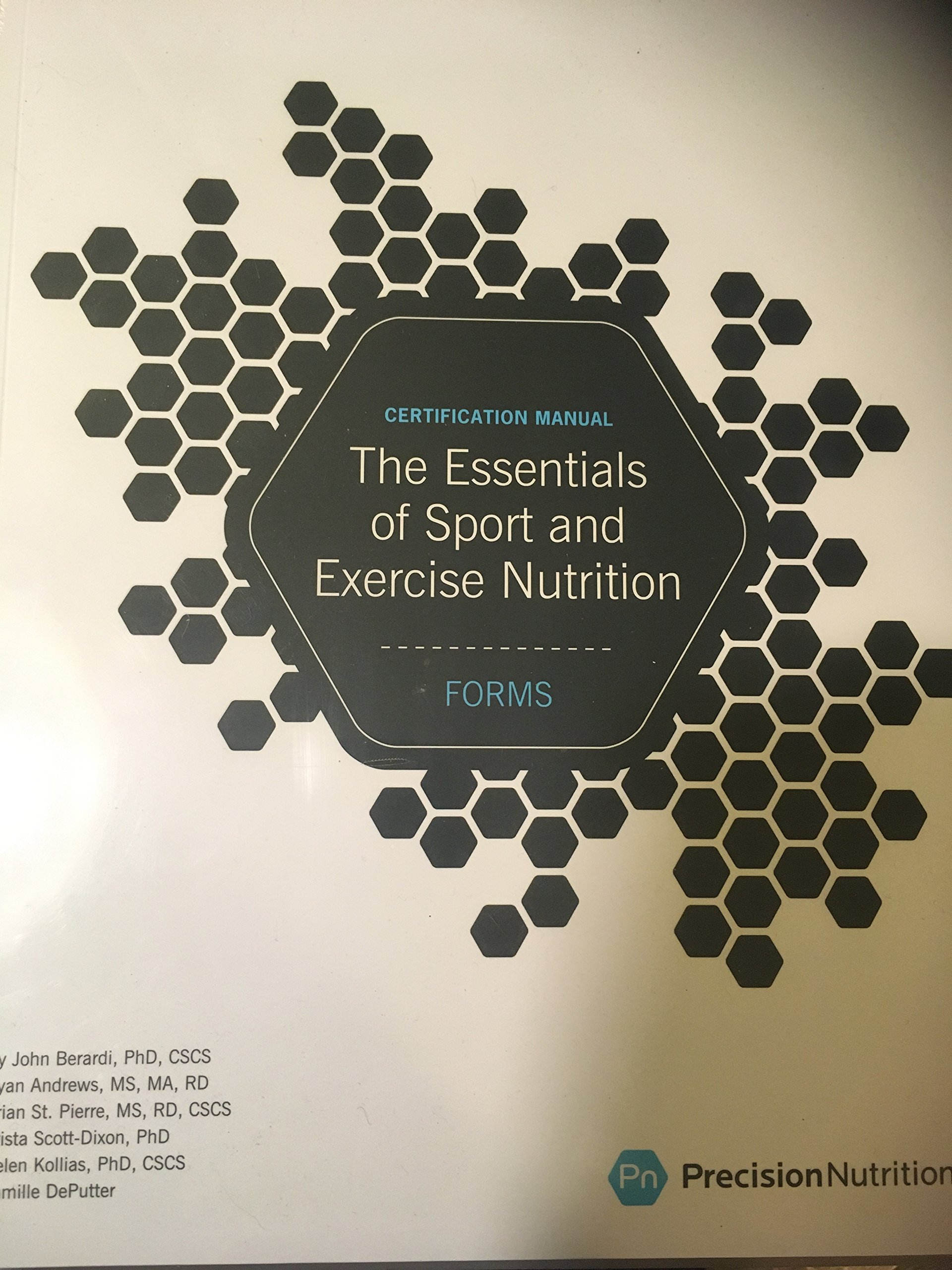 The Essentials Of Sport And Exercise Nutrition Certification Manual