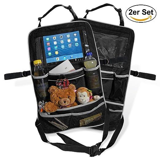 2 opinioni per Borsa organizer per sedile posteriore auto supporto iPad e Tablet | Spaziosa