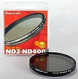 Marumi ND2-ND400 - Filtro de densidad neutra variable (49 mm)