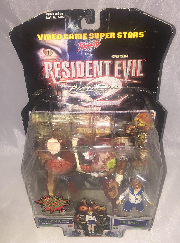 Resident Evil 2 Action Figur William Birkin + Sherry