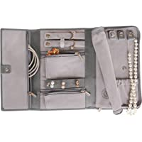 Saffiano Leather Travel Jewellery Case - Jewellery Organiser [Petite] by Case Elegance