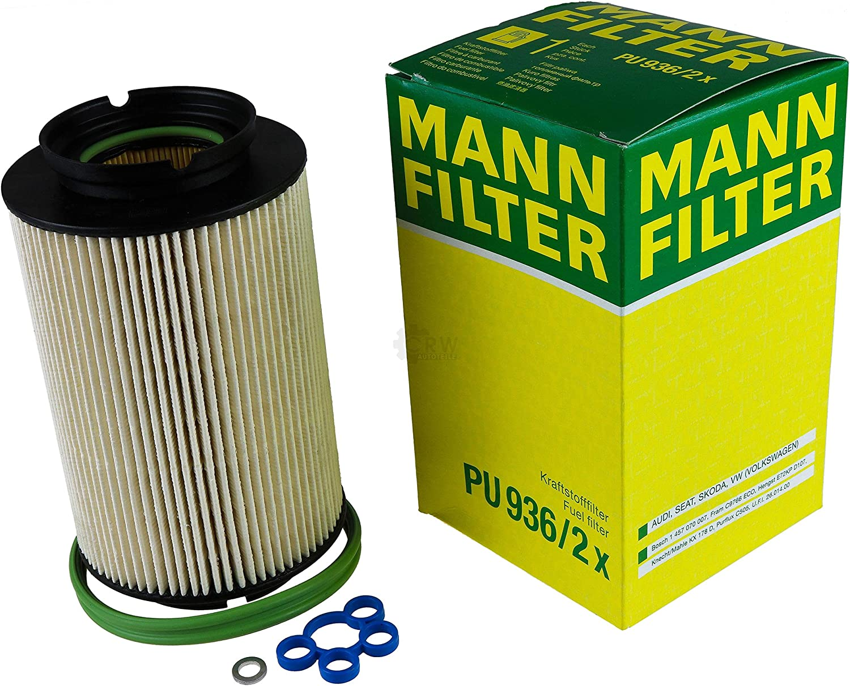 Filter Set Inspektionspaket 5 Liter Mannol Motoröl Diesel Tdi 5w 30 Api Sn Cf Mann Filter Luftfilter Innenraumfilter Ölfilter Kraftstofffilter Auto