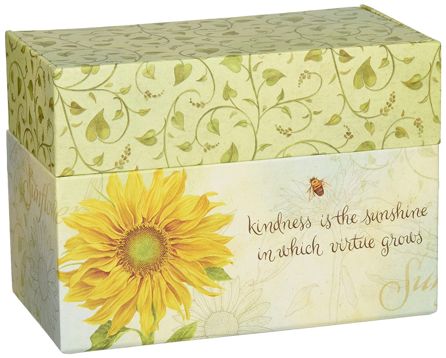 Lang Recipe Card Box with Recipe Cards, Virtue Grows 2011071