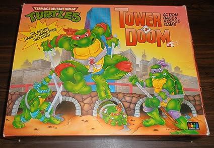 Amazon.com: Teenage Mutant Ninja Turtles Tower of Doom ...