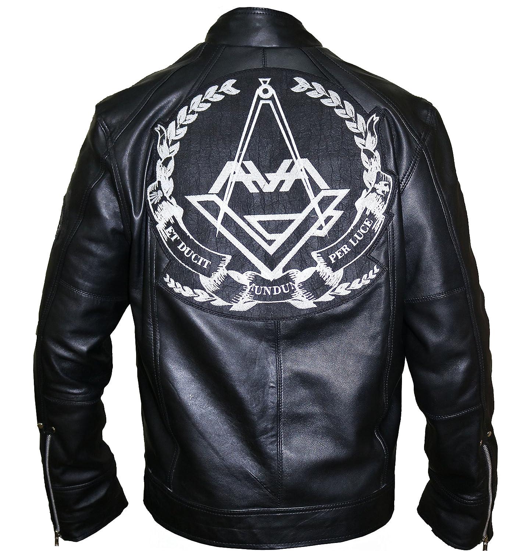 Mans Angels and Airwaves Love Tom DeLonge Stylish Leather Jacket