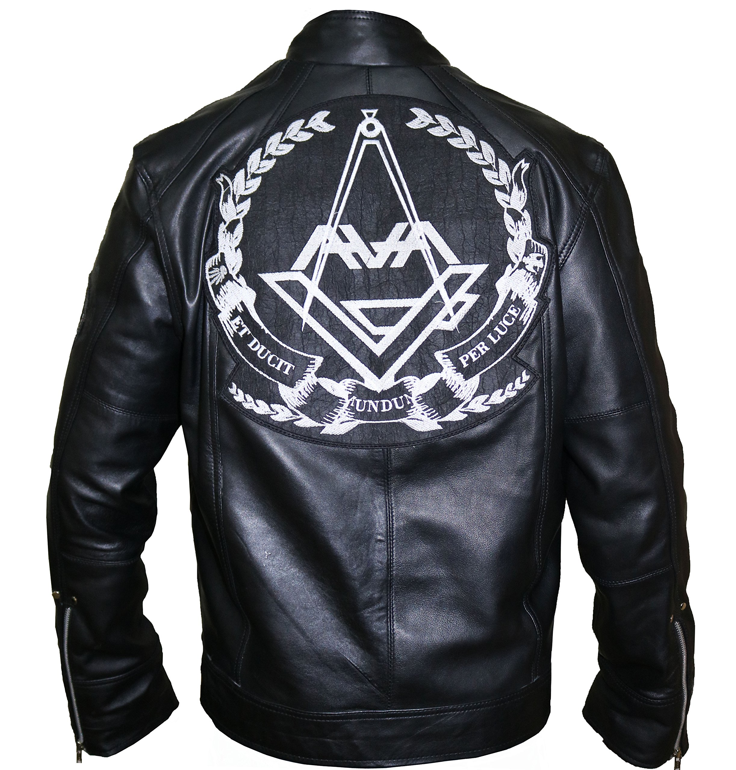 Angels and Airwaves Love Tom Delonge Cow Leather Jacket,3XL.