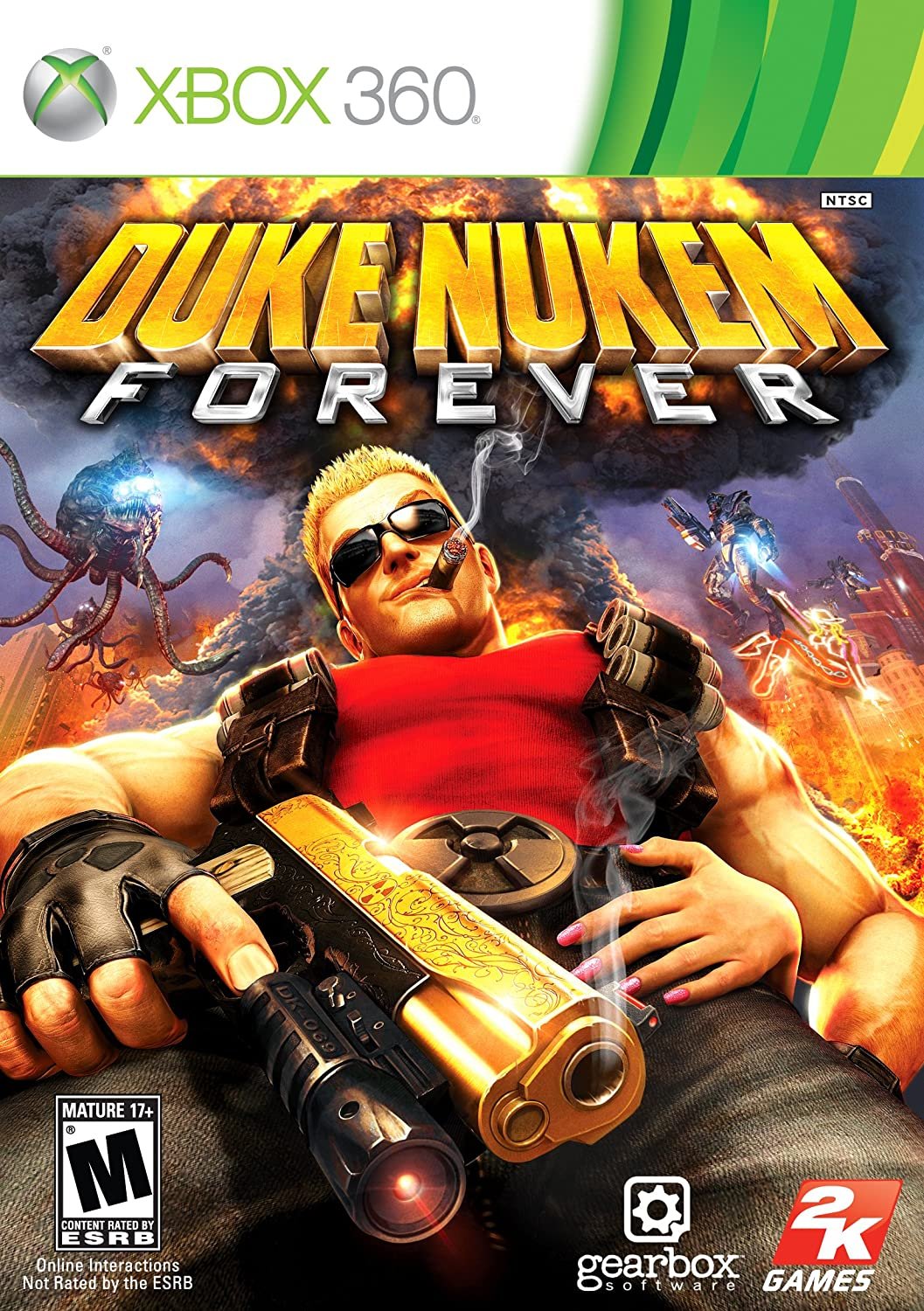 Duke Nukem Forever Xbox 360 Take 2 Video Games