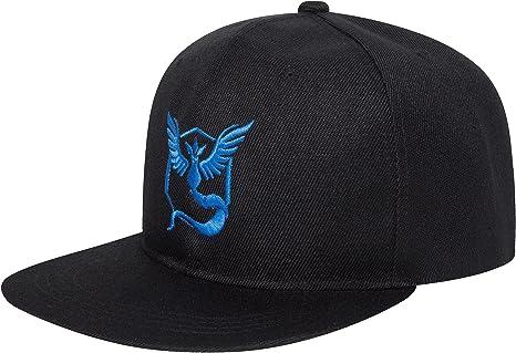 Carchet 1764 – Pokémon Go Snapbacks Gorras Team, Azul: Amazon.es ...