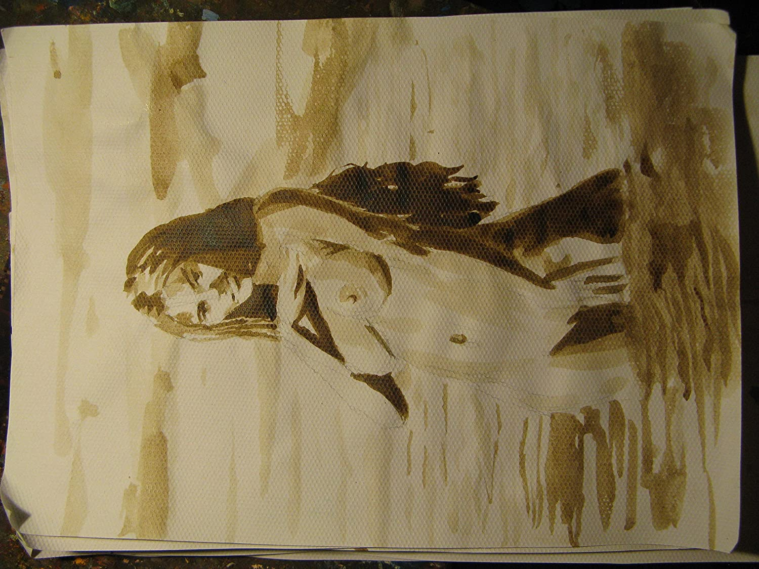 Share your drawing pictures of nude girls at the beach