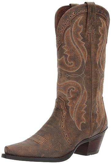 9f684cb6c32 Amazon.com   Ariat Women's Heritage X Toe Western Cowboy Boot   Mid-Calf
