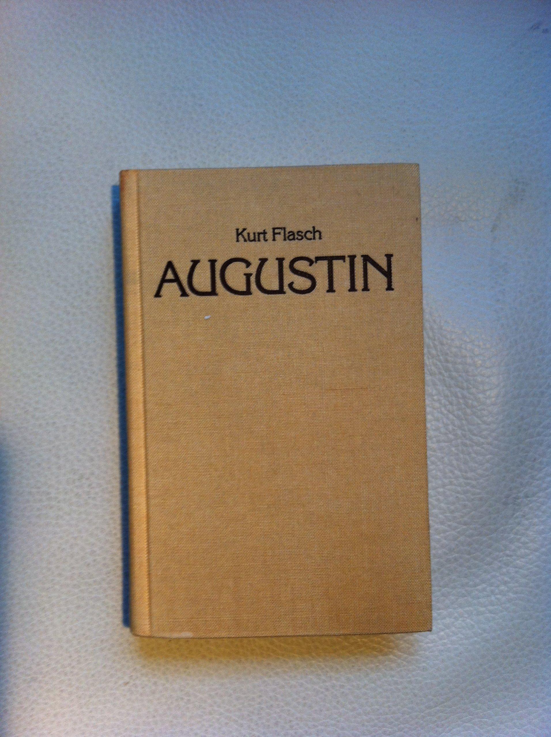 Augustin. Einführung in sein Denken