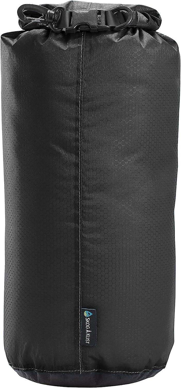 Skog Å Kust LiteSåk 2.0 Waterproof Ultralight Dry Bag | Black 2.0, 2-Pack: 10L x 2
