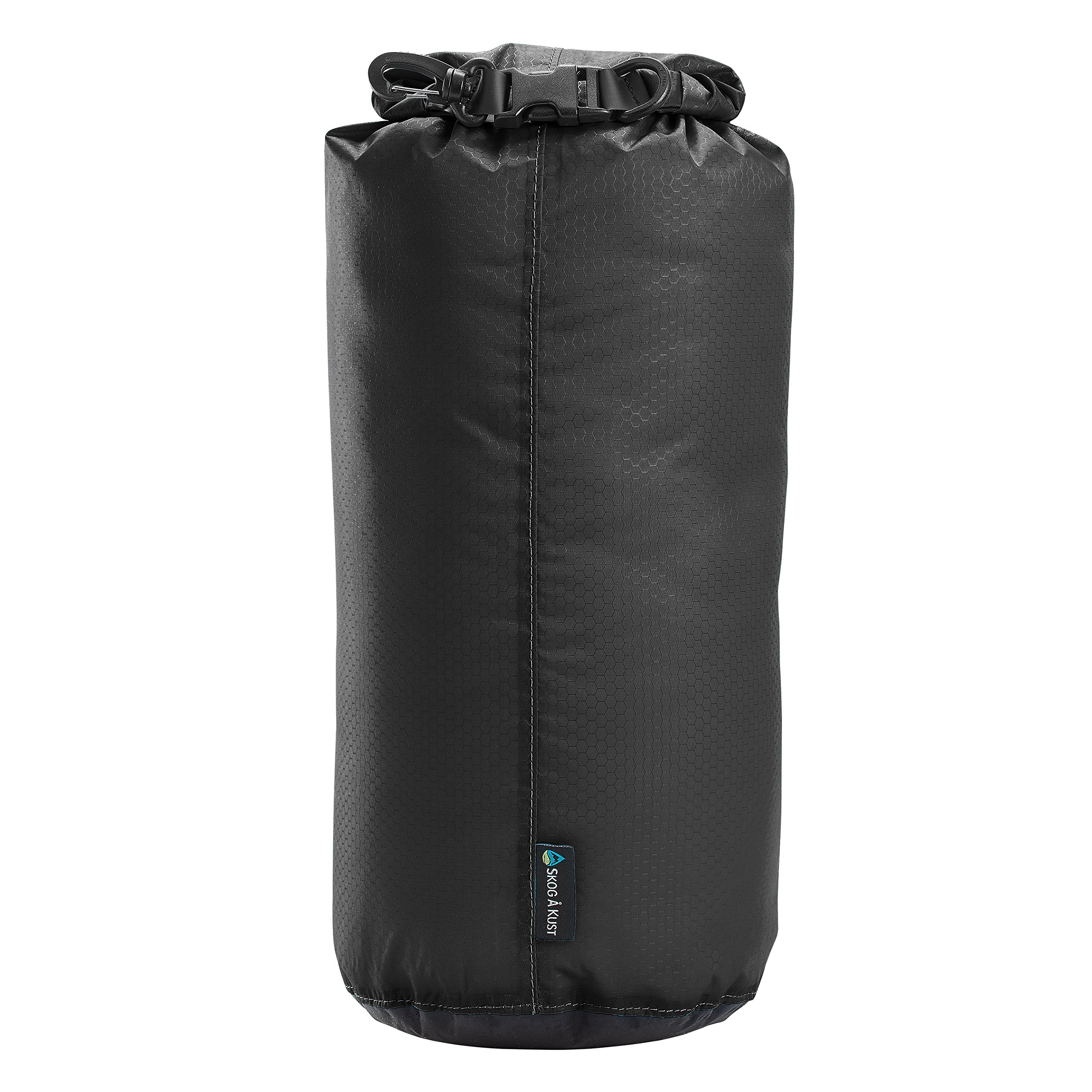 Såk Gear LiteSåk 2.0 Waterproof Ultralight Dry Bag | Black 2.0, 1.5 Liter