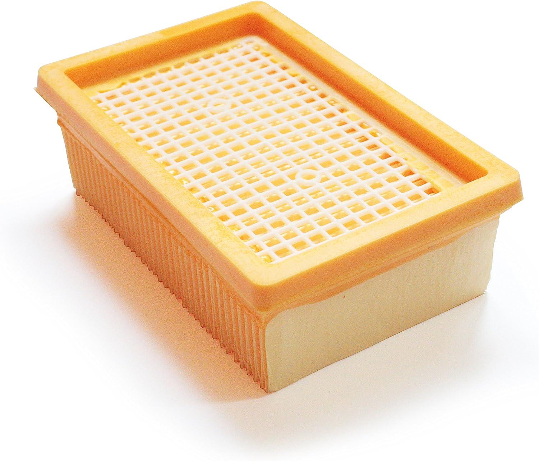 MV4 MI:KA:FI Filtre pliss/é plat WD6 MV5 Pour K/ärcher Aspirateur Multifonctions Aspirateur sec//humide WD5 comme 2.863-005.0 MV6 WD4