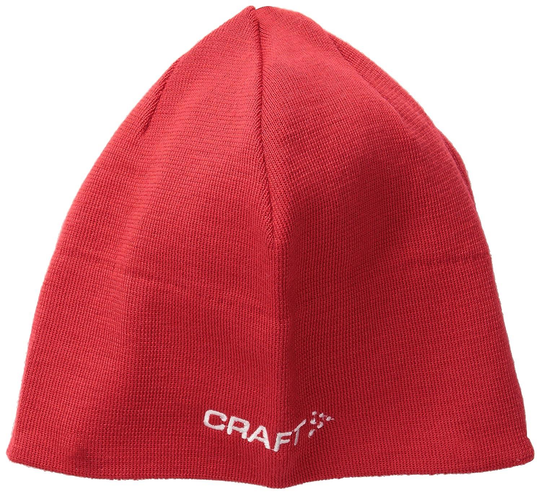 277dc03da09 Amazon.com  Craft Sportswear Unisex Knit Race Running Training Sport Beanie  Hat  Clothing