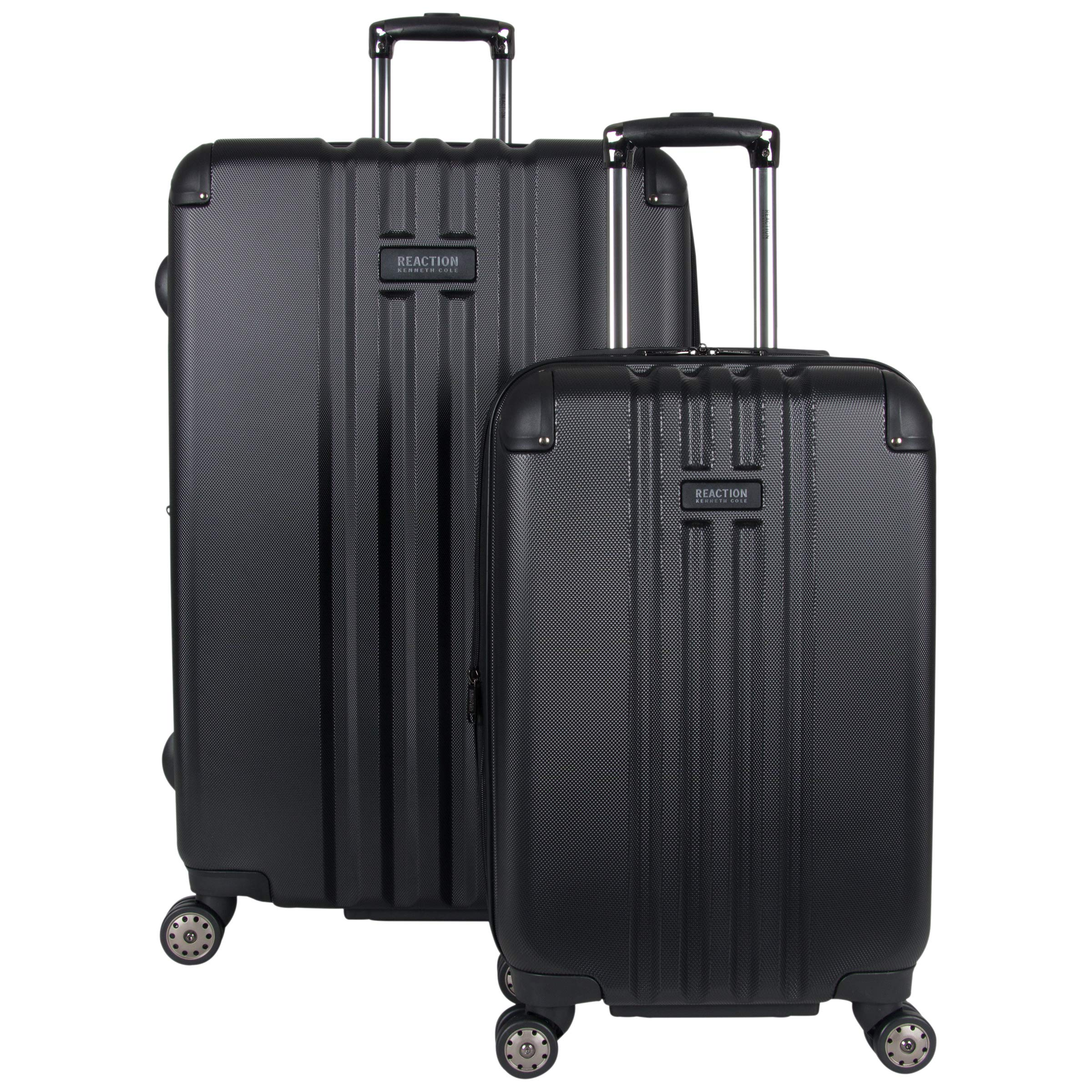 Kenneth Cole Reaction Reverb 2-Piece Luggage Set 20'', 29'', Black