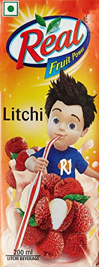 Real Fruit Power, Litchi, 200ml