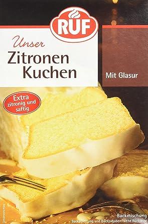 Ruf Zitronenkuchen Backmischung 8er Pack 8 X 500 G Packung